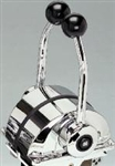 Chrome Twin Lever Control