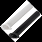 Narrow Gunnel Rod Holder (White)