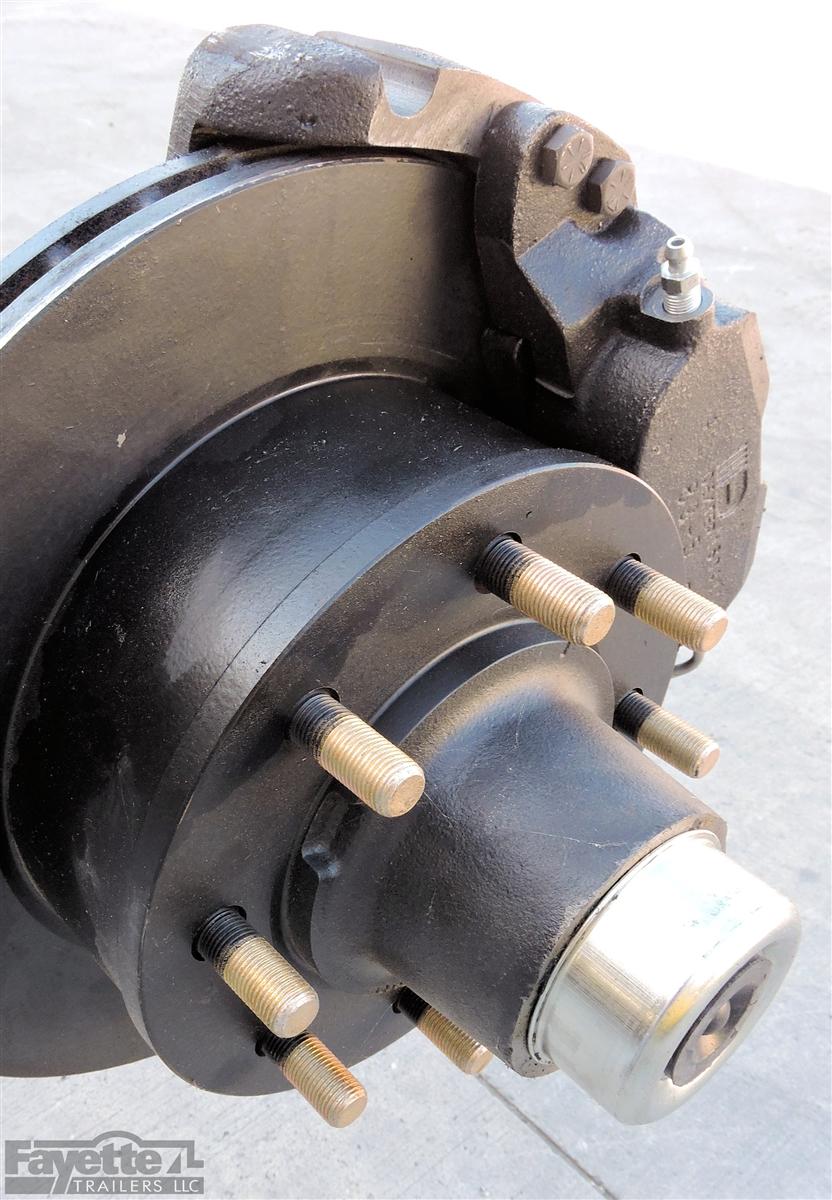 Dexter 7,000 lb Axle - Hydraulic Disc Brakes 95
