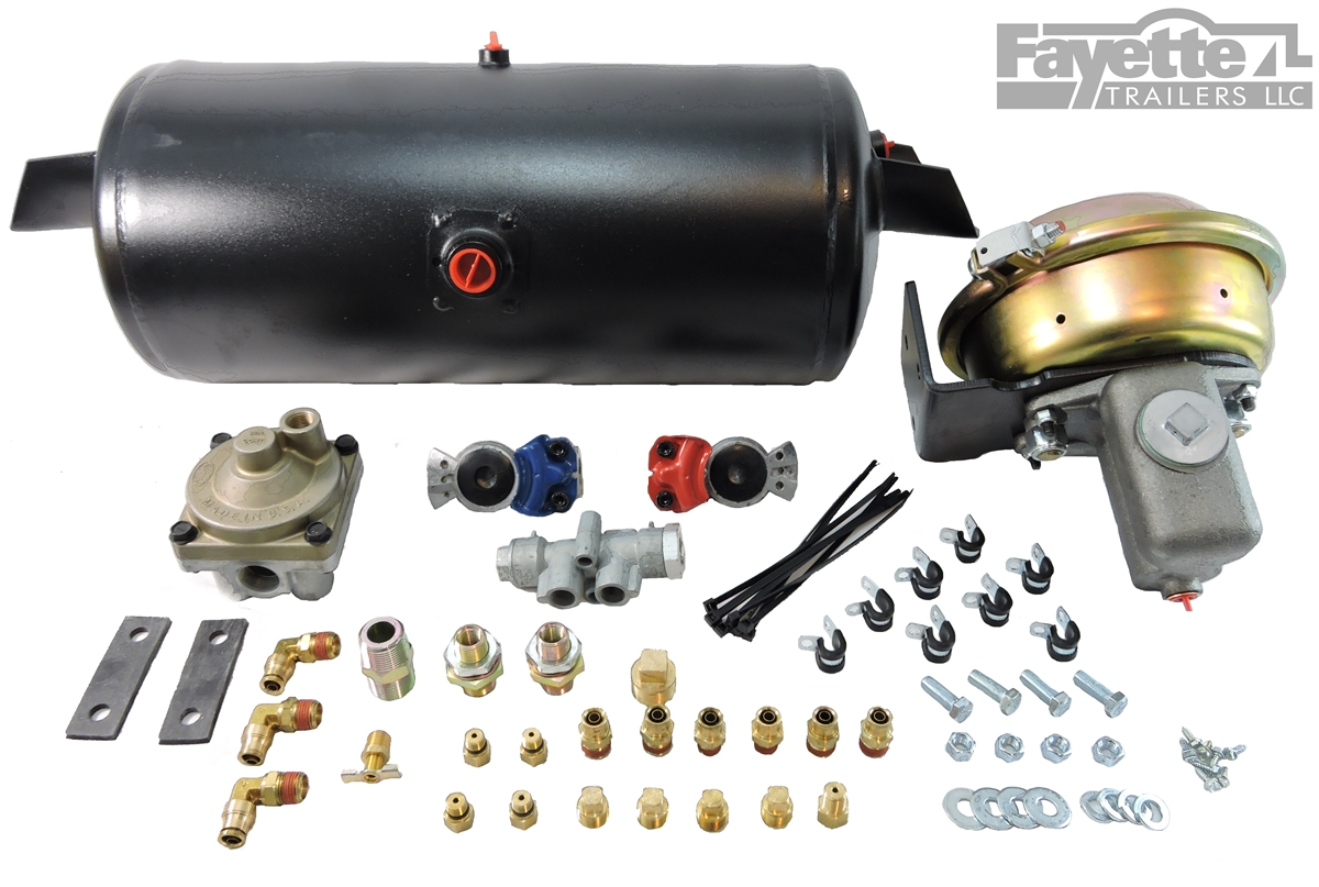 Trailer Air To Hydraulic Disc Brake Conversion Kit 1 600 Psi