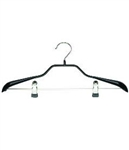 "16"" Jiffy Steamer Hanger w/Coated Clips – 1 per Carton"