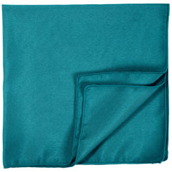 "17"" x 17"" Square Polyester Napkins - 1 Dozen/Packet"