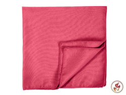 "Fire Retardant 17"" x 17"" Square Polyester Napkins - 1 Dozen/Packet"