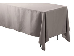 "Spun Polyester Rectangular Tablecloth 60"" x 120"""