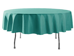 "Spun Polyester Tablecloth 108"" Round"