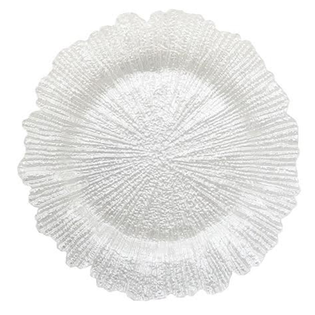 13\  Chargeit by Jay Reef White Pearl Charger Plate - Set ...  sc 1 st  RazaTrade & Buy Cheap and Best Quality Decorative Glass Charger Plates