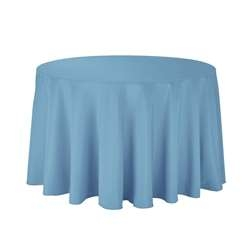 "156"" Round Polyester Table Cloths"