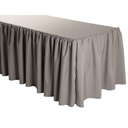 Rental - 14 Foot Polyester Shirred Tableskirt