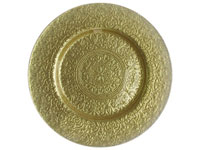 "13"" Charge it by Jay Alinea Gold Charger Plate - Set of 12"