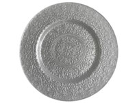 "13"" Charge it by Jay Alinea Silver Charger Plate - Set of 12"