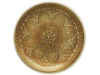 "13"" Chargeit by Jay Round Divine Gold Charger Plate - Set of 12"