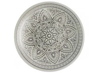 "13"" Chargeit by Jay Round Divine Silver Charger Plate - Set of 12"