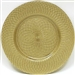 "13"" Chargeit by Jay Round Gold Spiral Charger Plate - Set of 6 