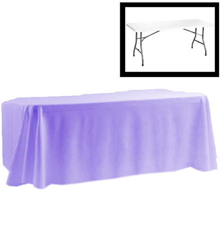 "80"" X 154"" Rectangular Polyester Table Cloths"