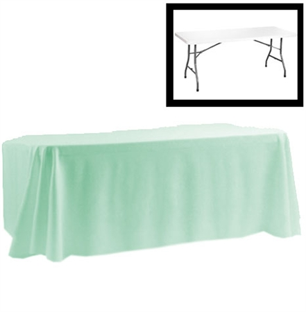 88 X 154 Rectangular Polyester Table Cloths RazaTrade