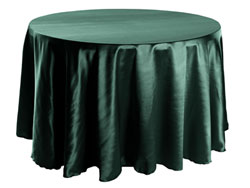 "Herringbone Polyester 120"" Round Tablecloth"