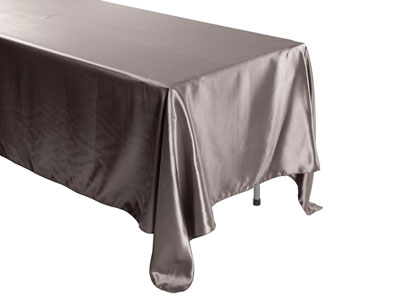 "Herringbone Polyester 72""x120"" Rectangular Tablecloth"
