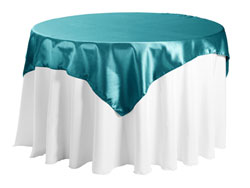 "Herringbone Polyester 72""x72"" Square Tablecloth"