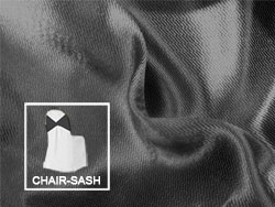 "Herringbone Polyester Chair Sash 8""x110"" (8 per pack)"