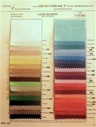 Satin Dupioni Swatch Card