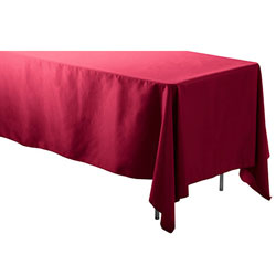"60"" x 108"" Rectangular Polyester Table Cloths"