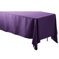 "60"" x 90"" Rectangular Polyester Table Cloths"