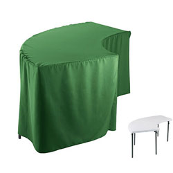 Serpentine Polyester Tablecloth (6630 model)