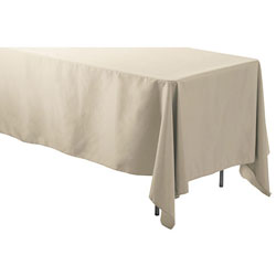 "72"" x 108"" Rectangular Polyester Table Cloths"
