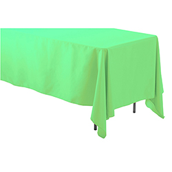"Rental 60"" X 120"" Rectangular Polyester Table Cloth"
