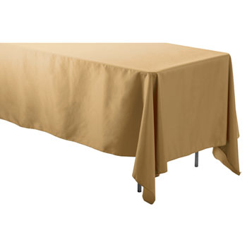 "72"" X 120"" Rectangular Polyester Table Cloths"