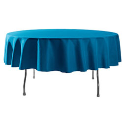"96"" Round Polyester Table Cloths"