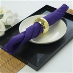 "Napkins 5/pk 17x17"" - Purple"