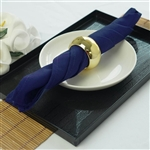 "Napkins 5/pk 17x17"" - Navy Blue"