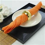 "Napkins 5/pk 17x17"" - Orange"