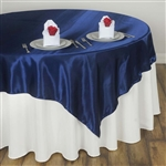 "72"" Overlay (Satin) - Navy Blue"