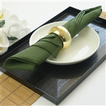 "Napkins 5/pk 17x17"" - Willow Green"