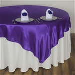 "72"" Overlay (Satin) - Purple"