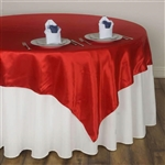 "72"" Overlay (Satin) - Red"