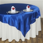 "72"" Overlay (Satin) - Royal Blue"