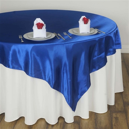 "60"" Overlay (Satin) - Royal Blue"