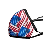 Americana Print Poly/Cotton Masks - 25-Pack