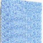 4 PCS Silk Hydrangea Flower Mat Wall Backdrop - Blue