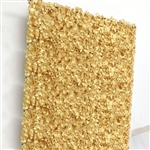 4 PCS Silk Hydrangea Flower Mat Wall Backdrop - Gold