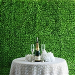 Artificial Genlisea Foliage UV Protected Bright Lime Green Wall Mat Panels - Pack of 4