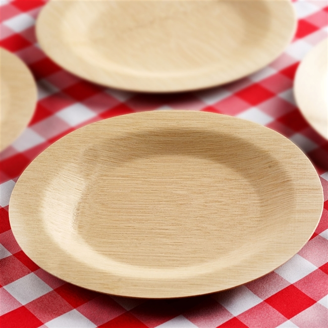 10 Pack - Sleek Bamboo 11  Round Plates & Buy Best Quality Cheap Bamboo Plates   Discounted Tableware
