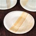 "5.5"" Birchwood Round Plates - Discount Wholesale Wedding Plates 