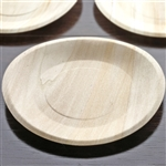 "25 Pack - Compostable Birchwood 8.5"" Round Plates"