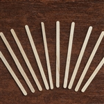 1000 Pack - Classic Rounded Eco-Friendly Birchwood Coffee Stirrers