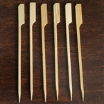 "100 Pack - 5.75"" Biodegradable Bamboo Paddle Picks"