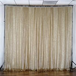 20ft x 10ft Grand Duchess Sequin Backdrop - Champagne